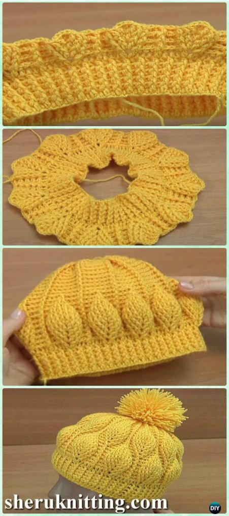 Bonnets au tricot et au crochet