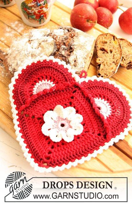 Idée crochet pour la Saint valentin.