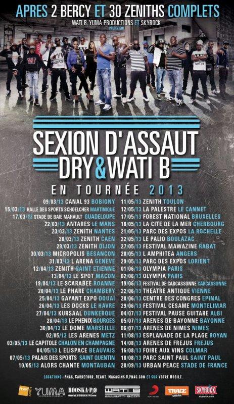 Liste des wati b en concert :-)