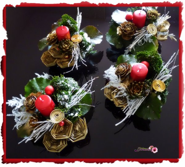 Blog de lisianthus page 22 art floral bouquet for Art floral centre de table noel