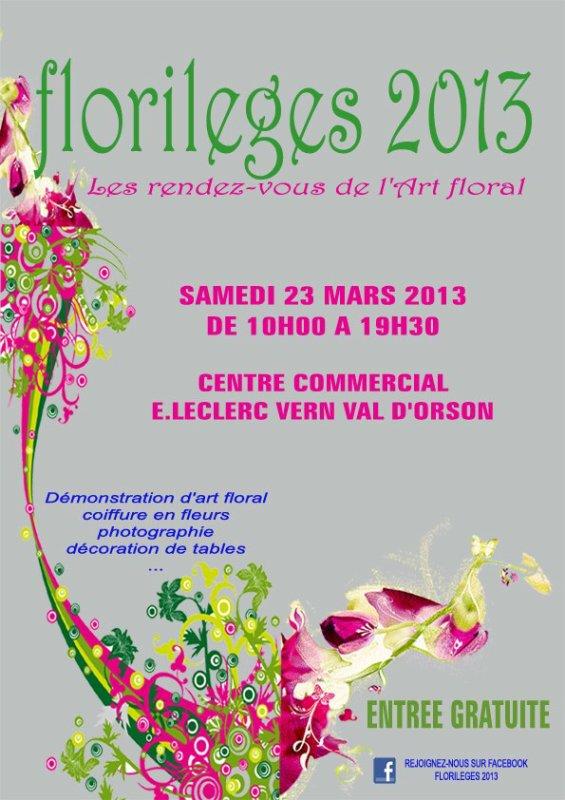 Florilèges 2013
