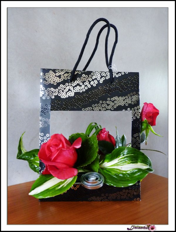 articles de lisianthus tagg s sac papier art floral. Black Bedroom Furniture Sets. Home Design Ideas
