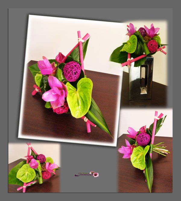 Blog de lisianthus page 16 art floral bouquet for Lisianthus art floral
