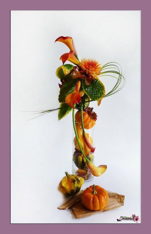 couleurs d 39 automne art floral bouquet cr ations florales de. Black Bedroom Furniture Sets. Home Design Ideas