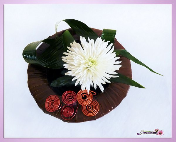Blog de lisianthus page 4 art floral bouquet for Lisianthus art floral