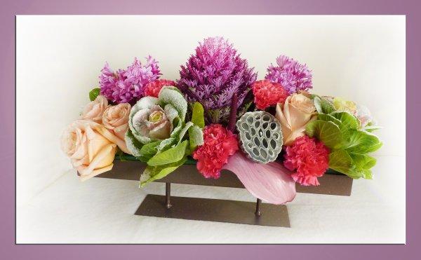 création florale