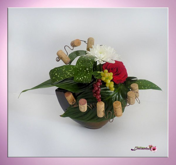 Des fleurs et des bouchons