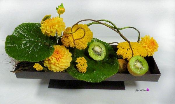 kiwis & fleurs