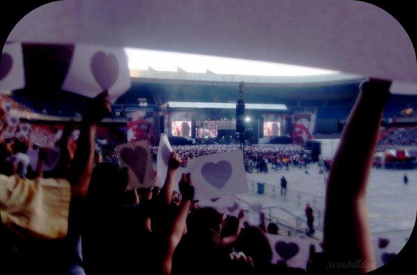 ♥  Parc des Princes ~ Le 21 Juin 2008  ♥