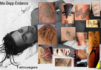 - Ses tatouages -
