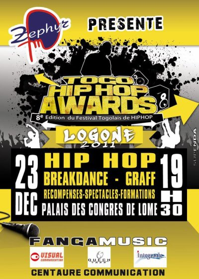 TOGO HIP HOP AWARDZ 2011 EN LIVE DIRECT ONTHE WEB