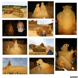 Festival sculptures de sable Blanckenberge juillet 2011