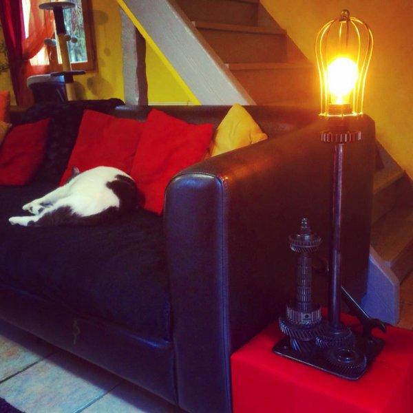 Lampe indus par Falko