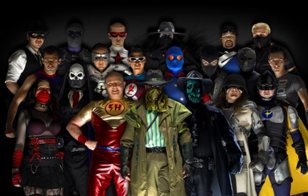 Les super-héros du monde réel