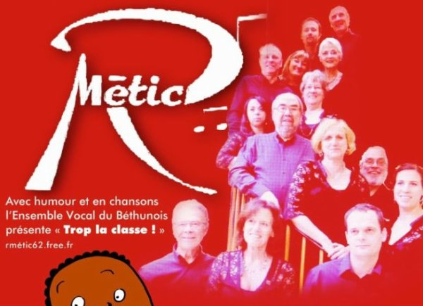 R'Metic le 29 Avril  20h Norrent-Fontes Salle poly.