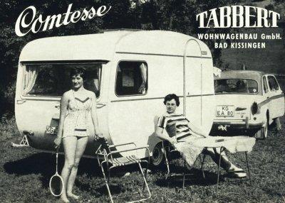 Voici la premiére tabbert comtesse 1958
