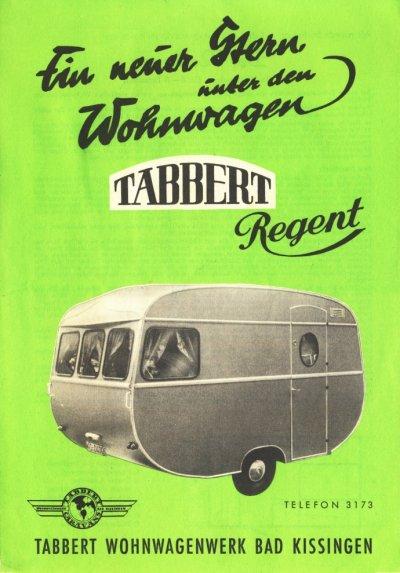 tabbert regent 1958