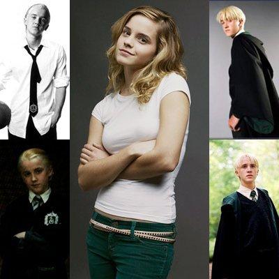 malefoy love hermione