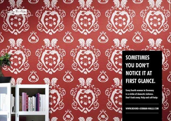 542 - Les affiches de l'association Behind German Walls d'Allemagne