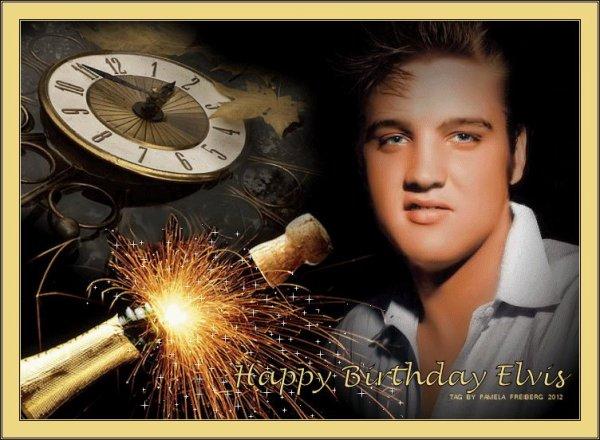 oO°°Oo...77ème ANNIVERSAIRE DU KING...HAPPY BIRTHDAY...oO°°Oo