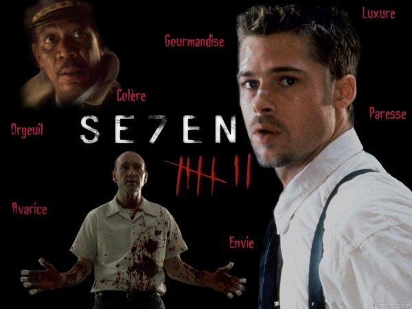 Seven:les 7 péchés capitaux.