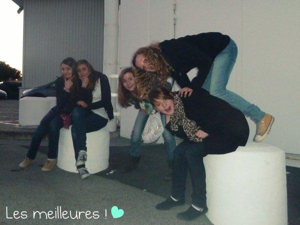 Youna, Coline, Florence, Johanna, Manon; ♥