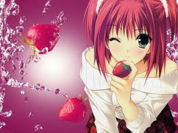le manga qui aime les fraises