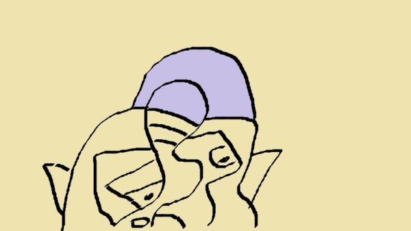 un de mes dessin par anne dupéré