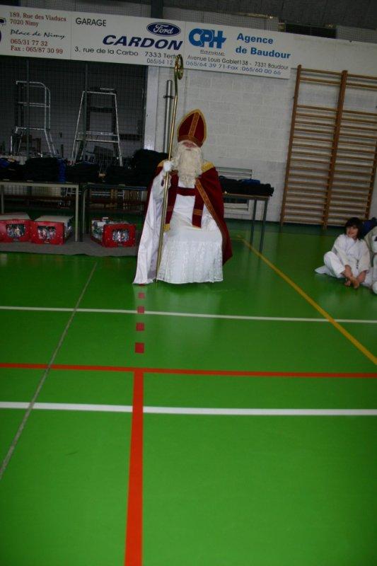 Saint-Nicolas fera une escale au KC Baudour!