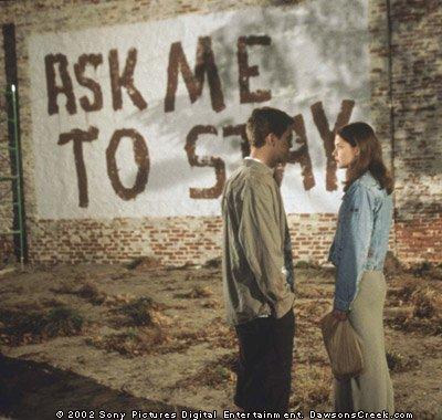 Tourne-toi.... C'est ton mur... il est inachevé comme notre histoire !