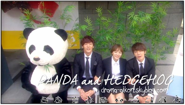 Panda and Hedgehog || « One, two, three, GO! » - Go Seung Ji