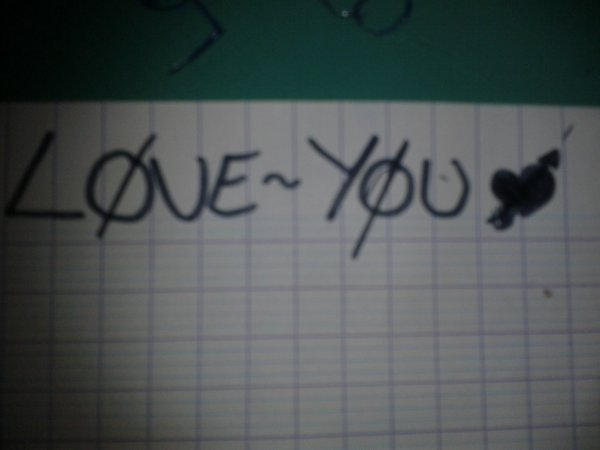 Je t'aime !♥