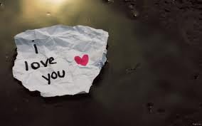 I love you, I love you, I love you..
