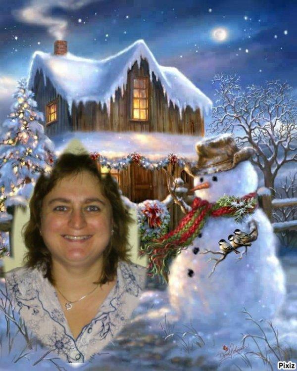 cadeau pour mon amie sylvie166 joyeux moel de lili2248 gros bisous