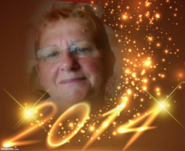 cadeau pour mon amie kdoinsomnie  meilleurs voeux pour 2014 des gros bisous de lili2248
