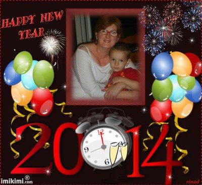 meilleurs voeux pour l'a pour 2014 pour mes amie amoureusmento19 et princesse -laly1958 des gros bisous de lili2248
