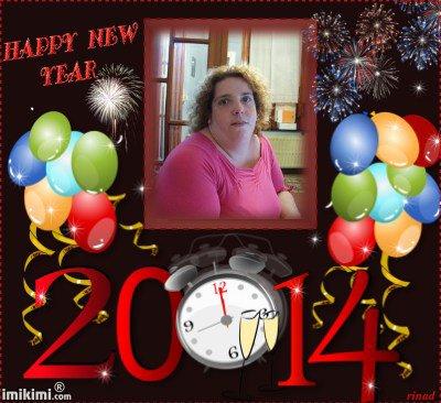 meilleurs voeux pour l'a 2014 pour mon amie calimero1950 et aimer-part-amour des gros bisous de lili2248