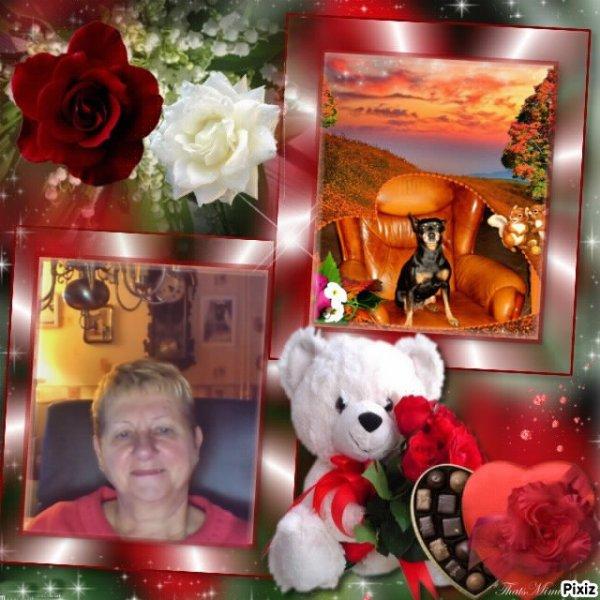 et oui mon petit coeur sa fait 9moi aujour d'hui tu ma quite 9/1/2014 pour le paradi des chien tu me manque ma petite gipsy maman qui taime gros bisous