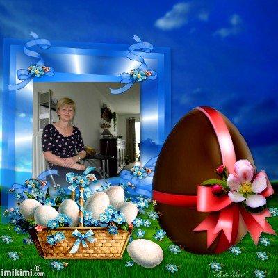 je te souhaite une bonne fête de pâques mon amie gros bisous  quel montage poue mes amies et amis bisous de ghislaine