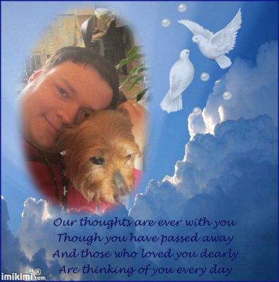 c'est pour mickey qui nous a quite repose en paix petit coeur pour mon ami yohan-is-back