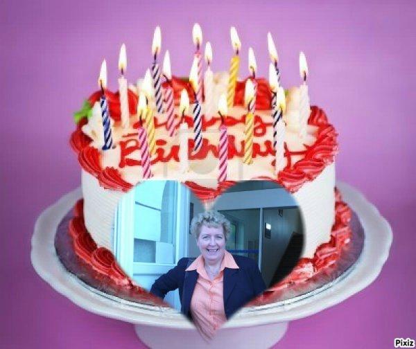 un trés joyeux anniversaire mon amie chricstiane des gros bisous ton amie lili2248