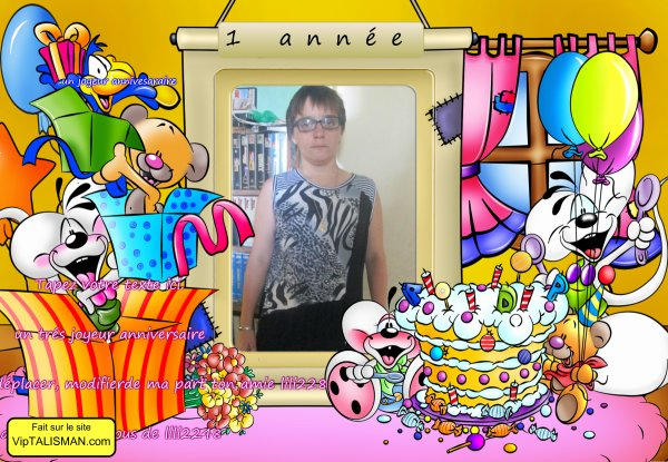 un joyeur anniversaire des gros bisous lili2248