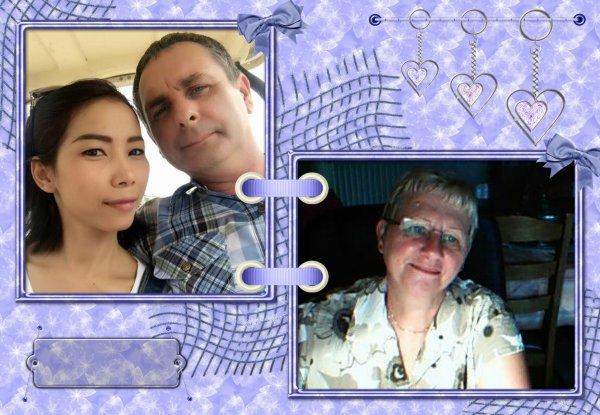 bonsoir mes amies et amis c'est pour dire en tres le 10/01/au 26/01/2016 je serai en thailaind pour le mariage de mon fils jean-marie 47ans et elle 35ans que c'est beau de voir son fils ce marie gros bisous