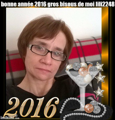 une bonne année 2016 gros bisous de moi lili2248 encore des cadeau des amies