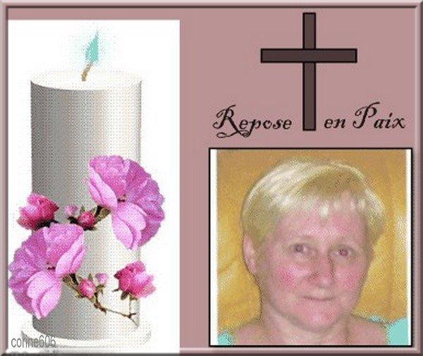 Pour mon amie lili 2248 Ghislaine je t'envoie toutes mes sincères condoléances ainsi qu'a toute ta familles bon courage bisous miau