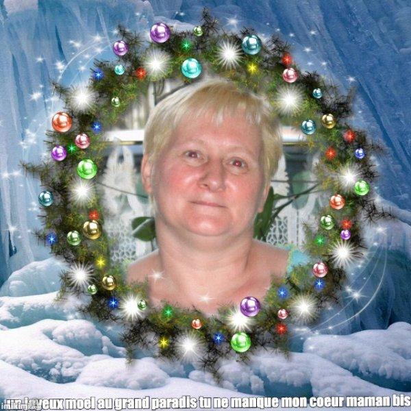 je passe maman et toi mon coeur vous dire un joyeux moel vous mes manque toute les deux je t'aime gros bisous de ta fille Ghislaine et toi ma fille