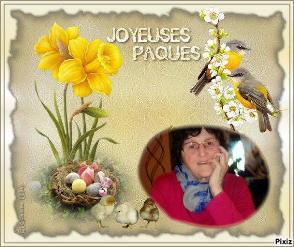 a vous tous mes amies et amis une très joyeux fête de pâques des gros de moi lili2248