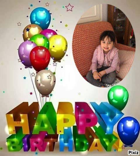 et oui 4ans le 22/2/2021 un très joyeux anniversaire  ma petit fille Melissa des gros bisous de many