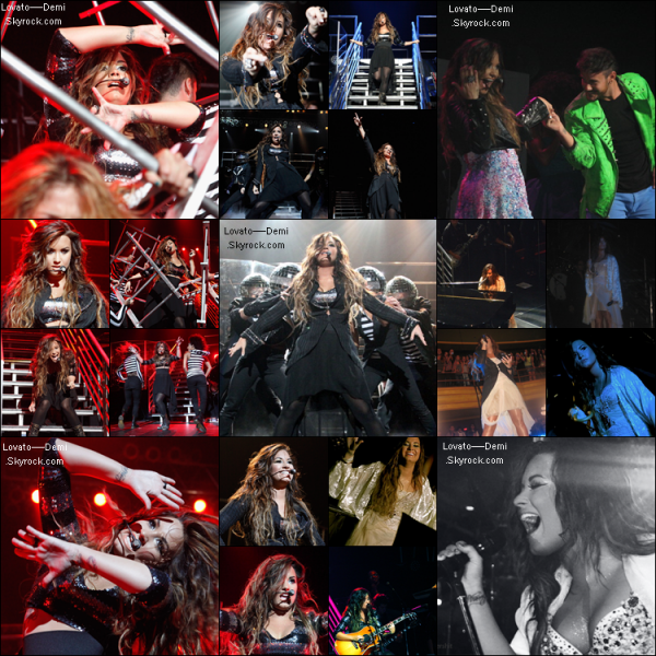 Demi donnent un Concert au Hammerstein Ballroom à New York City.Top/Bof ou Flop?
