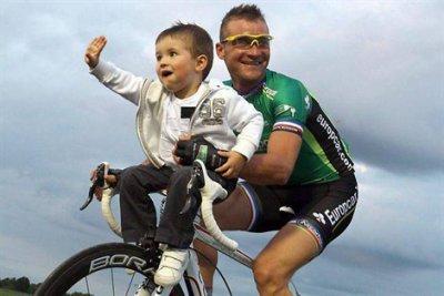 Mr voeckler un des meilleurs avec son fils